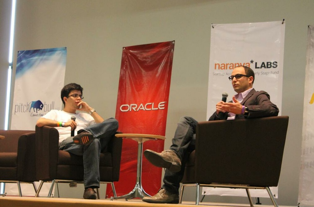 Jared Simon's fireside chat with Andres Barreto at PulsoConf 2013 in Guadalajara.