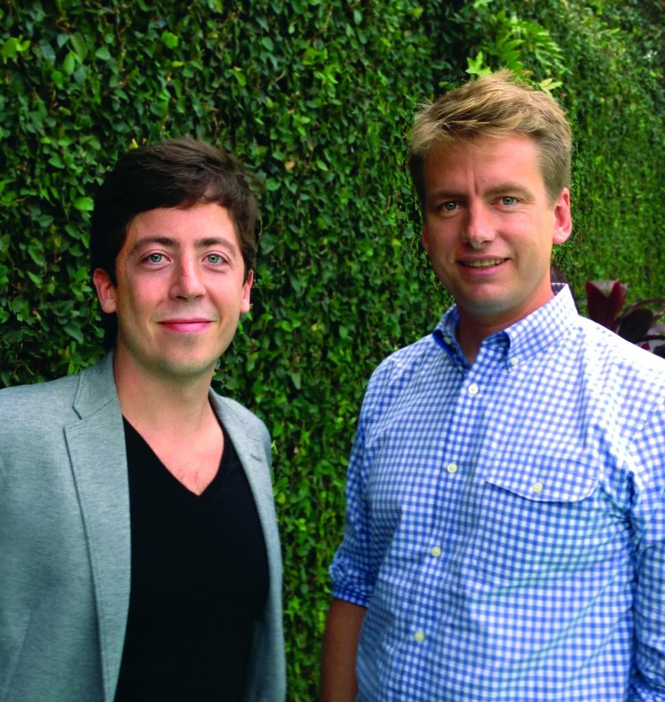 Dan Strougo and Patrick Llewellyn.