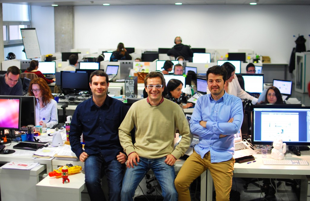 Martín Caleau (Co-founder and CTO), Jordi Ber (Co-founder and CEO), Javier Serer (Partner and CPO)