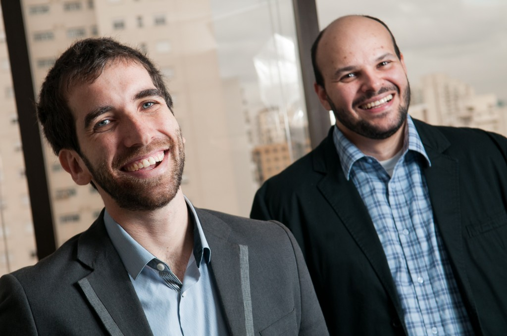 Fernando Mifano Galender and Robson Del Fiol, co-founders of Adtrade.