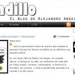 Videoblogger colombiano en Barcelona