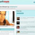Fiebre de Twitcam: frivolidades y utilidades que se derivan de Twitter