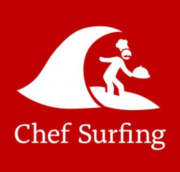 chef surfing