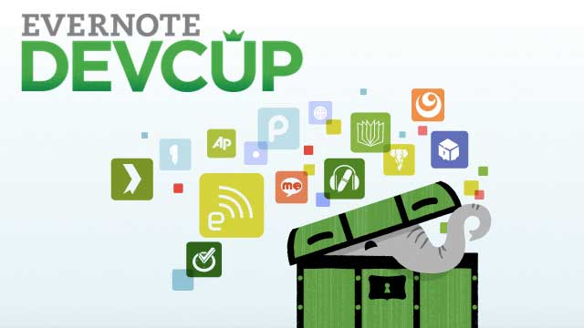 Evernote DevCup Developer Competition: your app could be the