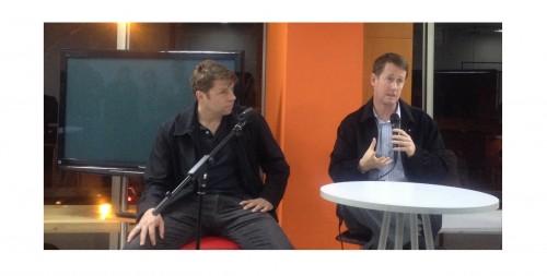 Michael Hennesy y David Green en Bogotá