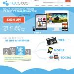 Neositios: webs en minutos para emprendedores y pymes latinoamericanas