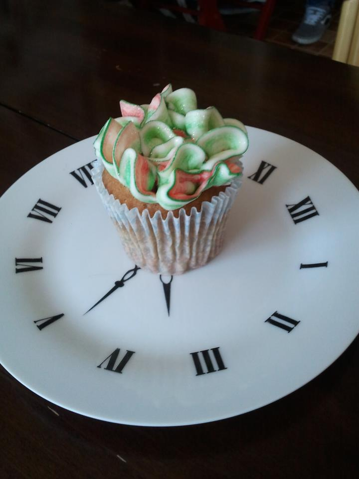 Besame mucho cupcake