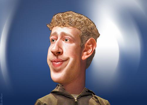 Mark Zuckerberg – Caricature