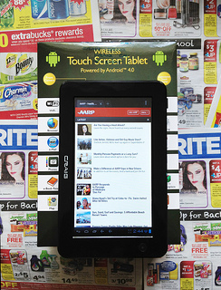 The CVS / RiteAid Craig Electronics CMP741D Android 4.0 Tablet (New August 2012)