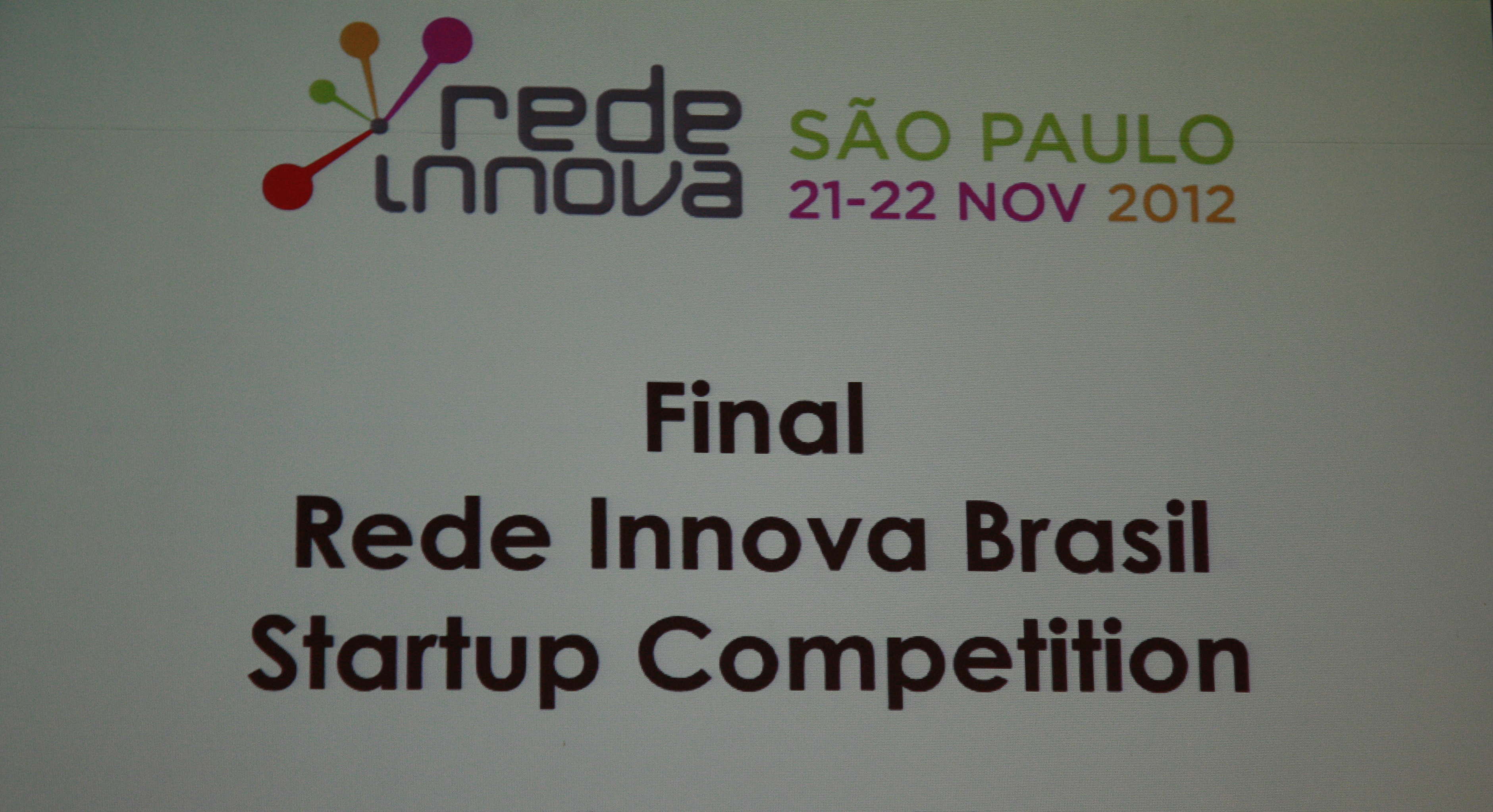 Startup Competition #RIBrasil2012