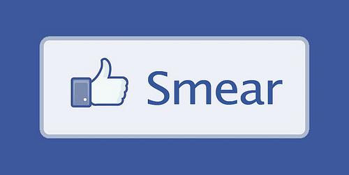 New Facebook smear button! :D