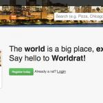 "Worldrat: apunta a liderar el nicho de ""Social Travel"""