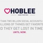 Hoblee, tu historial de favoritos social media en un solo lugar