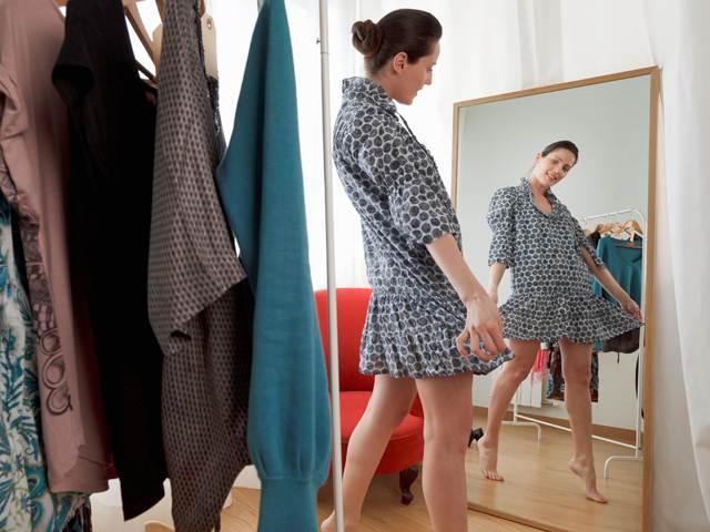 Примерить платье