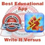 Write it versus: Mejor Aplicación Educativa en los Readers' Choice Awards 2013