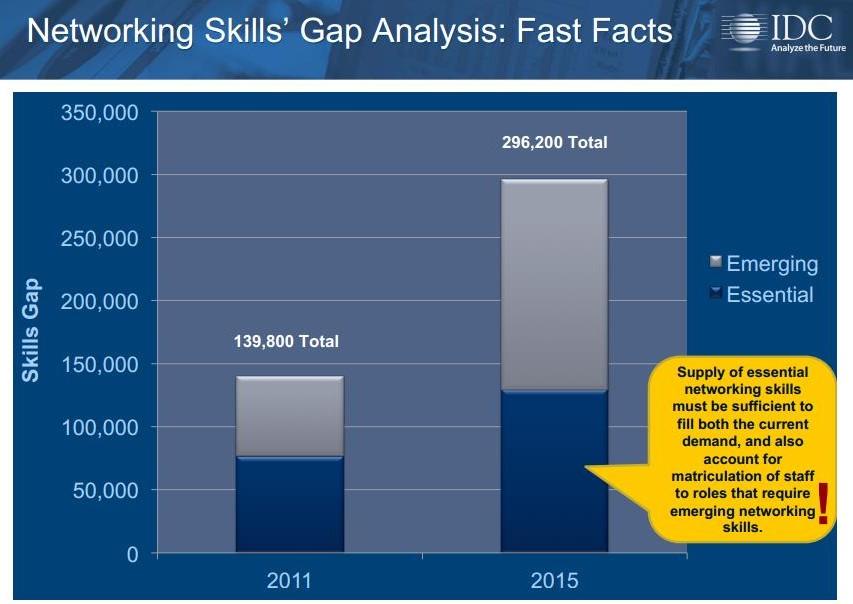 skills gap IDC