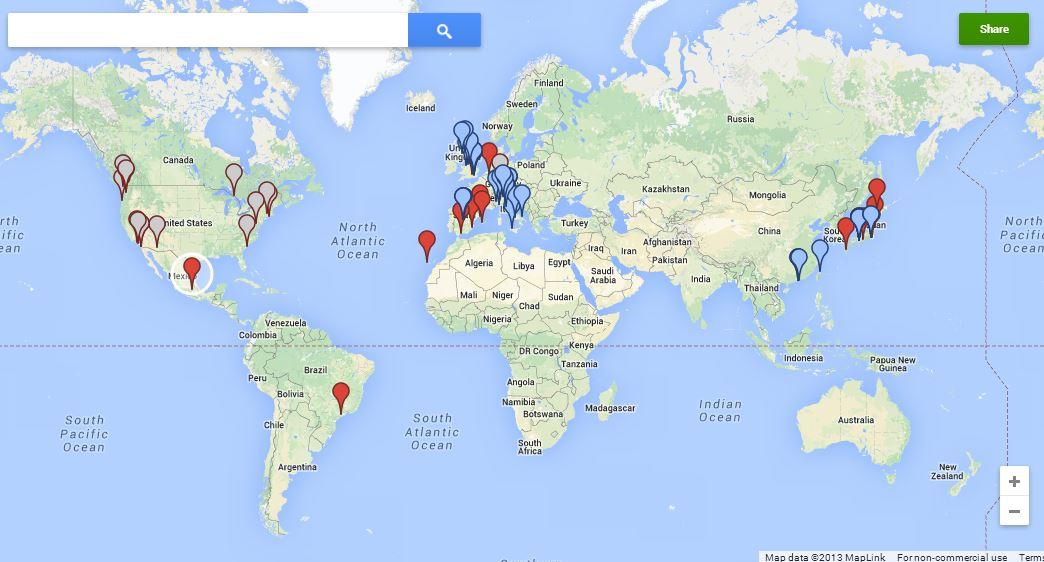 Street View mapa interactivo