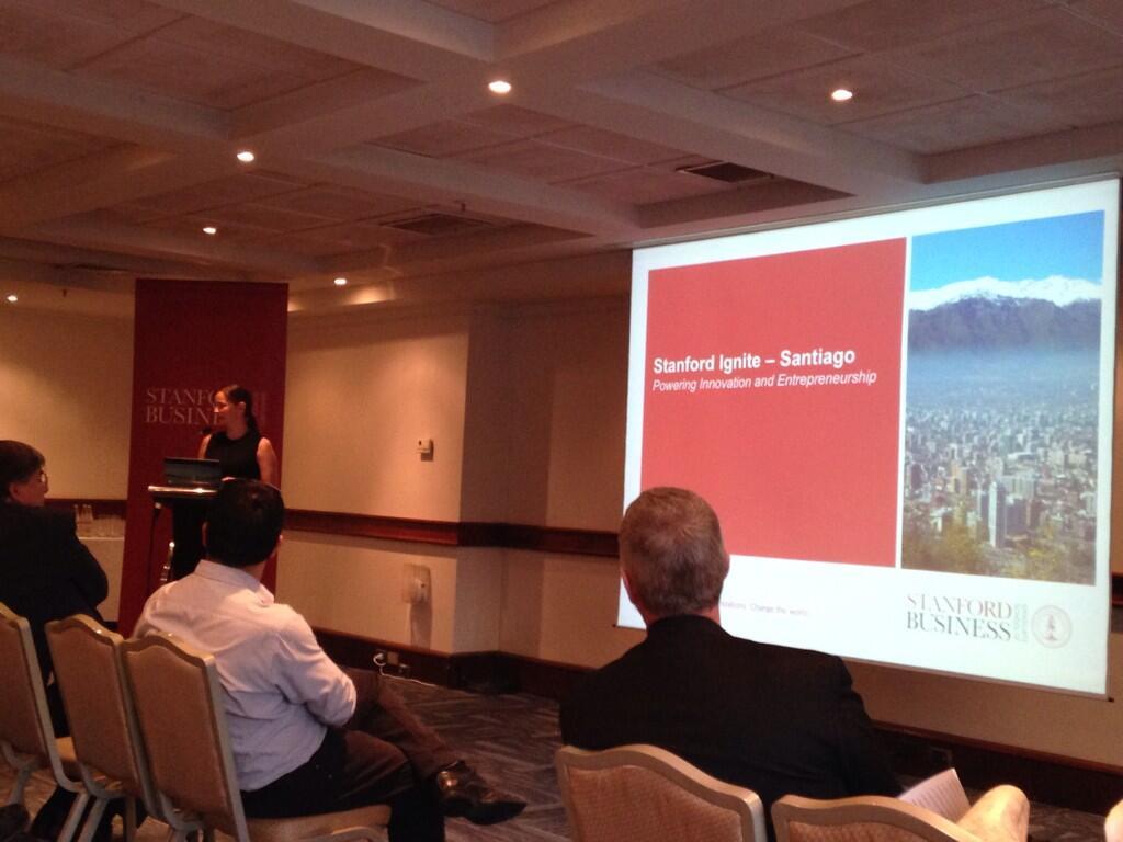Bethany Coates, Associate Dean y Directora del programa Stanford Ignite Santiago. Fotografía de @StartUpChile.