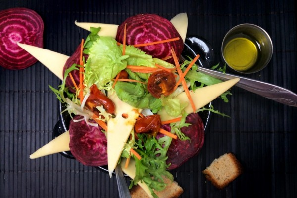 Cheese Veggie Salad