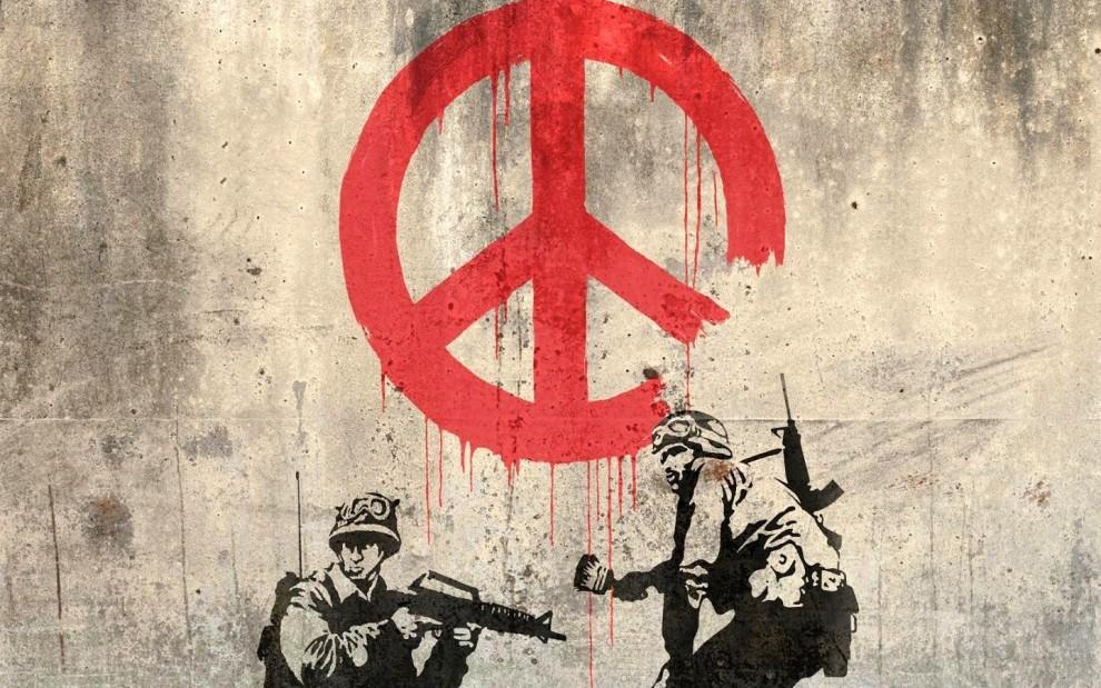 banksy-peace