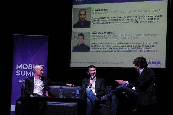 Roman Guasch, Turner - Ezequiel Abramzon, Disney y Mariano Scheinsohn