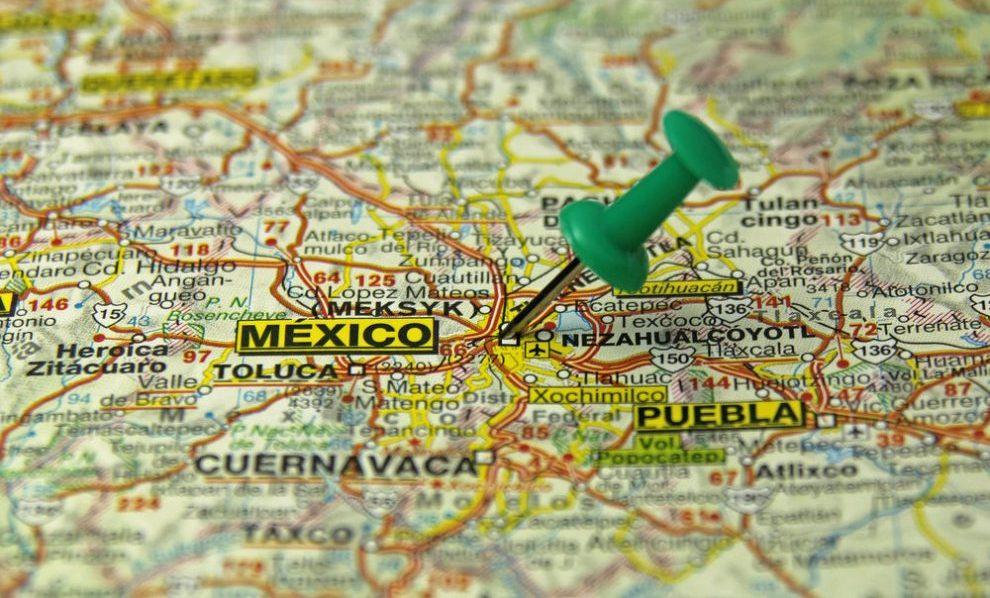 México - Map - Startups
