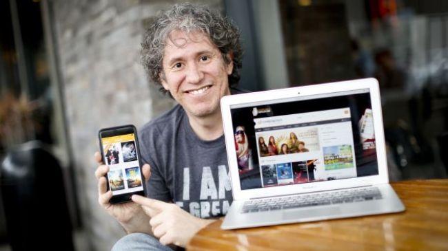Gary Urteaga, cofundador de Cinepapaya y una de las principales figuras emprendedoras de Perú.
