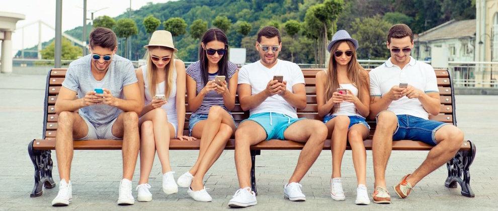 mensajes de texto- millennials